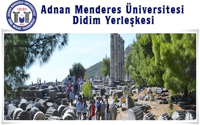 Adnan Menderes Üniversitesi Didim Yerleşkesi
